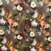Velvet Fabric Spring Garden Large