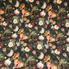 Velvet Fabric Flower Bed