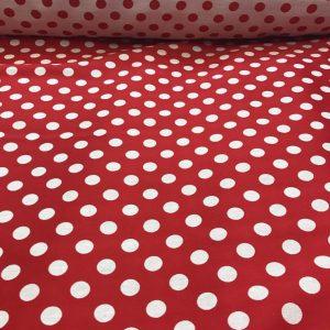 Flamenco Red Spots Fabric