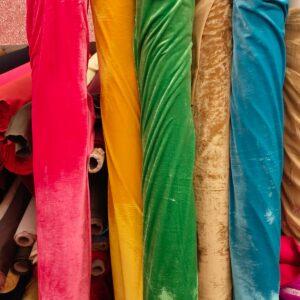Stretch Velour Fabric