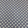 Cotton Poplin Astral and Lilac Navy Royal