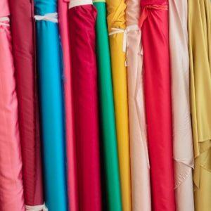 Stretch Satin Fabric
