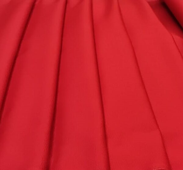 Cotton Canvas Red