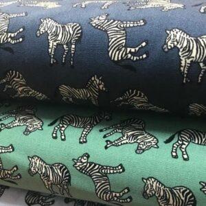 Cotton Poplin Zebra
