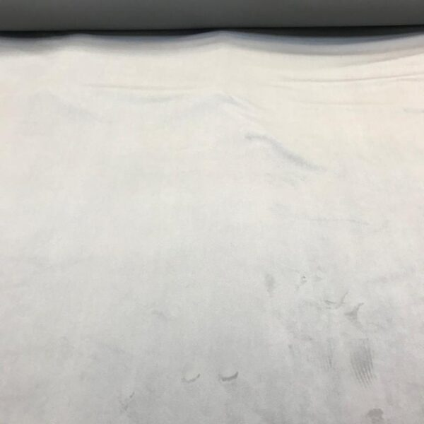 Plain Velvet Silver Grey