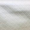 Leatherette Trellis Cream