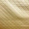 Leatherette Trellis Gold
