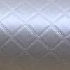 Leatherette Trellis Silver