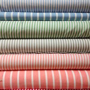 Linen Viscose Stripe