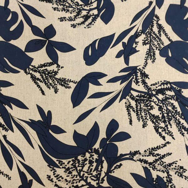 Floral Ink Blue