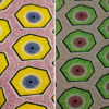 Batik look Cotton Fabric