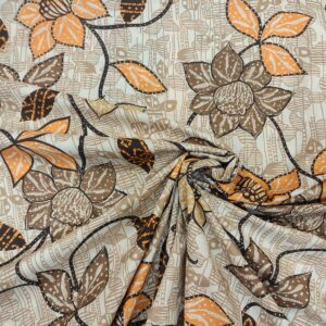 Cotton Earthy Floral