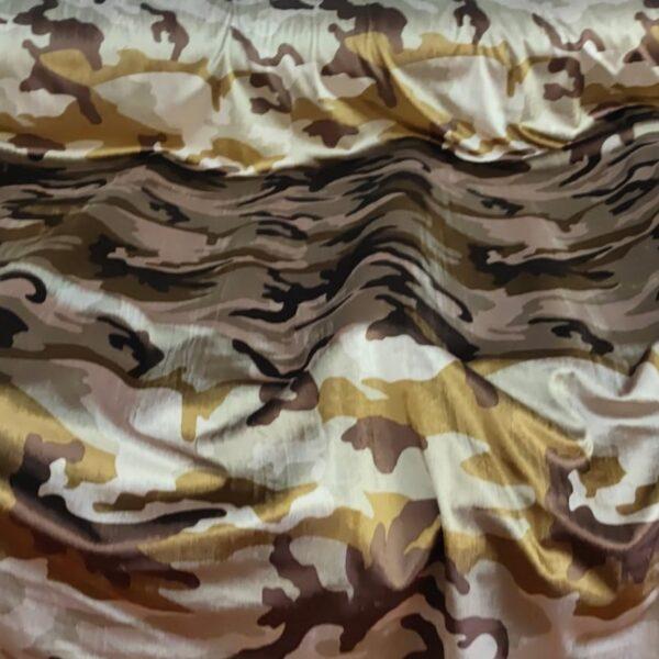 Spandex Velvet Camouflage