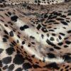 Spandex Velvet Leopard