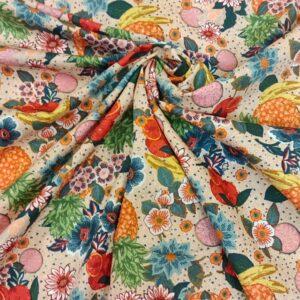 Tropical Fruit Fabric