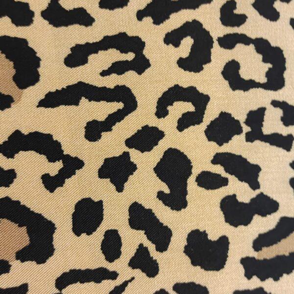 Viscose Leopard