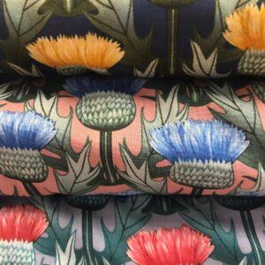 Cotton Lawn Cactus Flower
