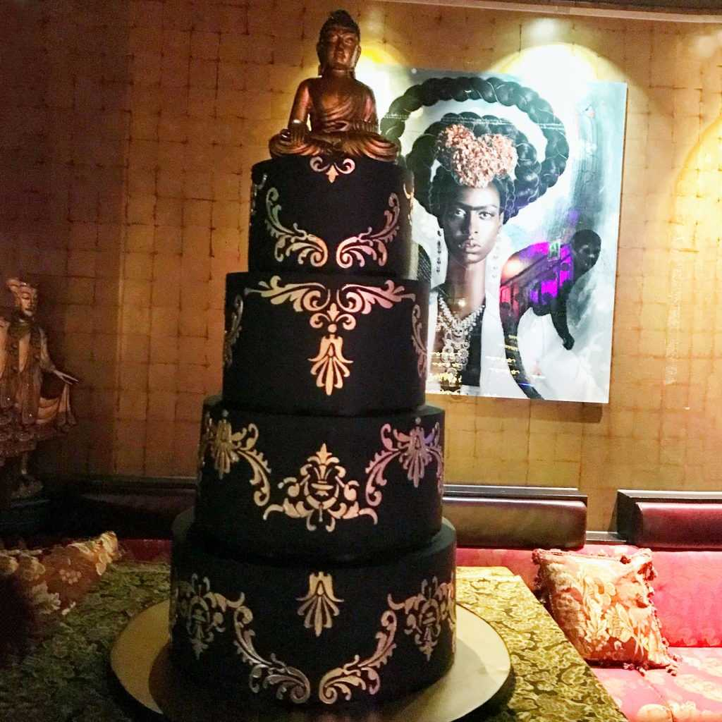 corporate cake london review from Buddha Bar