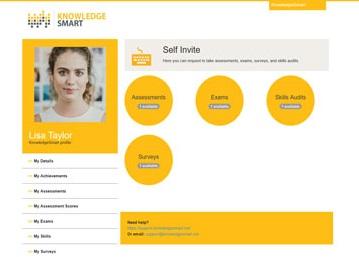 KnowledgeSmart Self Invite