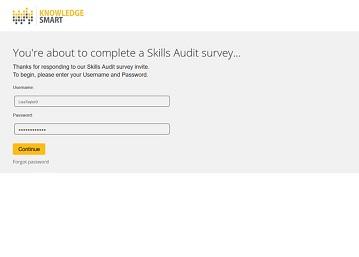 KnowledgeSmart Self Invite Survey