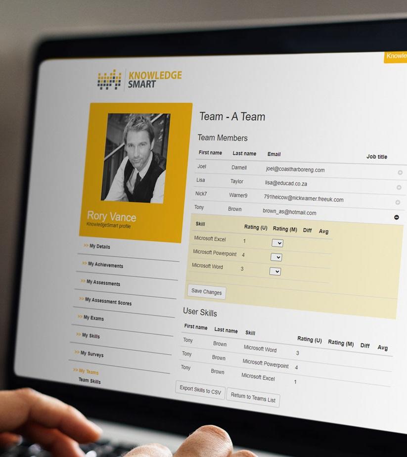 KnowledgeSmart-Skills-Audit-My-Teams-Team-Detail-Web