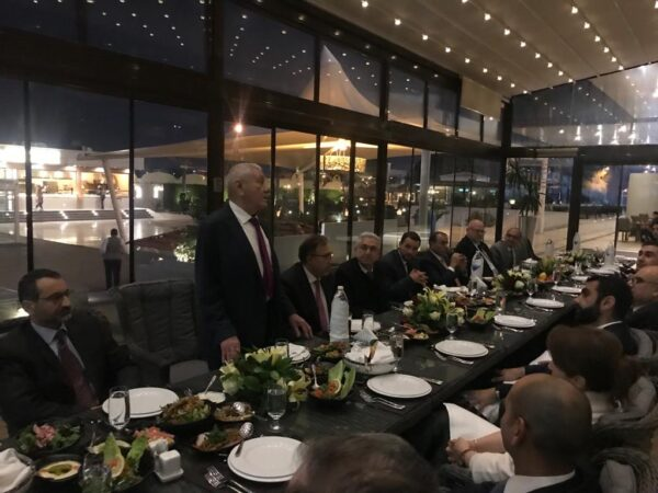 IBBC meetings and dinner for members and guests at the Babylon Hotel, Baghdad on 5th and 6th February WhatsApp-Image-2020-02-06-at-12.32.11-2-600x450