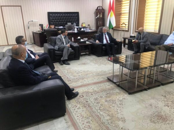 IBBC Visit to Bagdhad, Babylon, Najaf, Erbil and Dubai (9th to 24th October) Meeting-with-Min-of-Trade-KRG-600x450