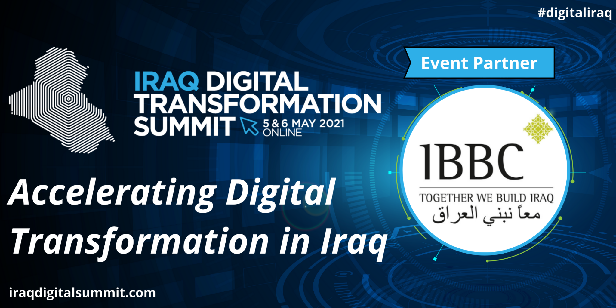 IBBC members attend and support the ' Digital transformation of Iraq' conference with Frontier Exchange DIGITAL-TRANSFORMATION-IN-IRAQ-2048x1024