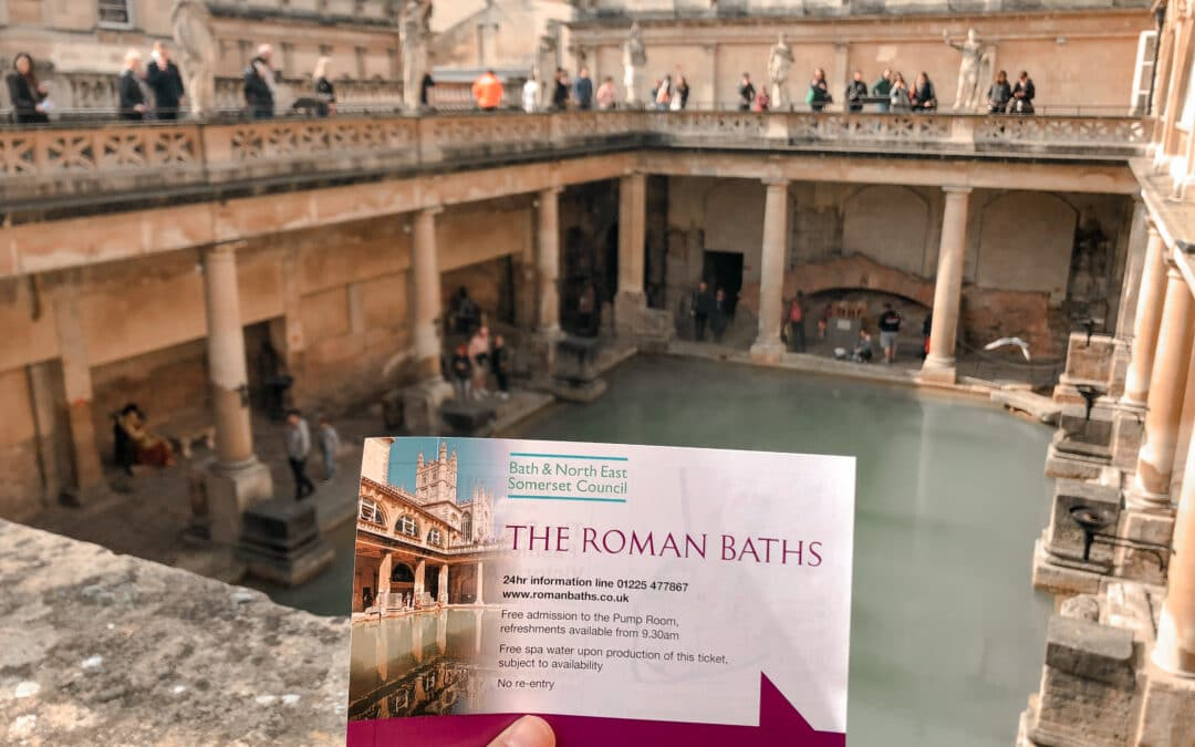 5 Reasons to visit the Roman Baths