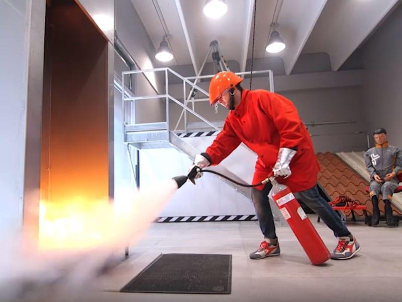 Corso antincendio medio e basso rischio