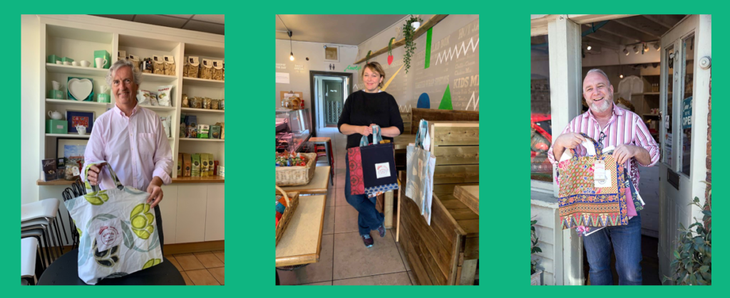 Shopkeepers Thames Ditton with Boomerang Bags