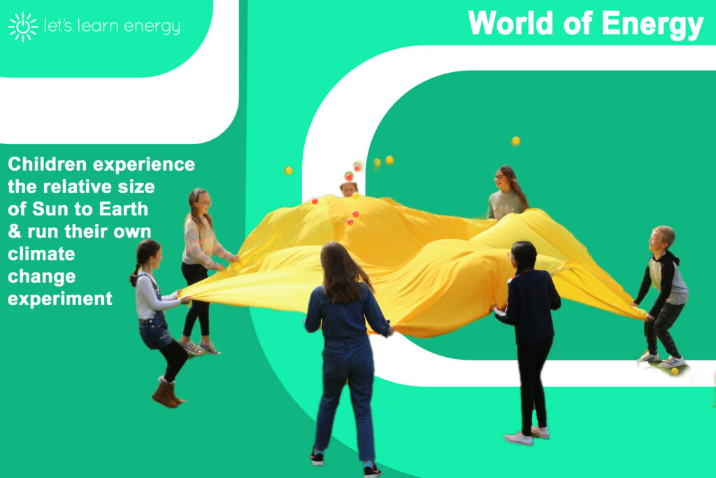 Children run their own climate change experiment with World of Energy by Let's Learn Energy