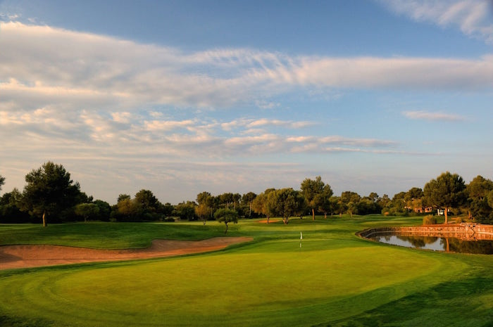 Golf Course at Be Live Hotel Son Antem – Majorca