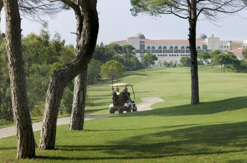 Golf course at Kempinski Hotel The Dome – Turkey