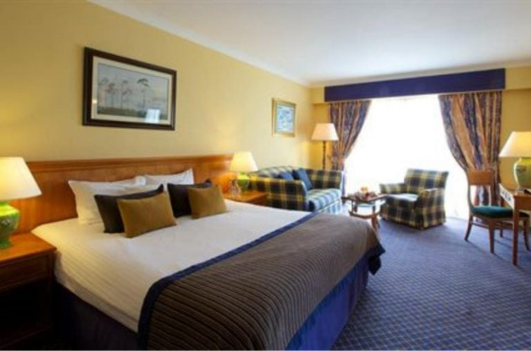 Golfing hotel at Carnoustie