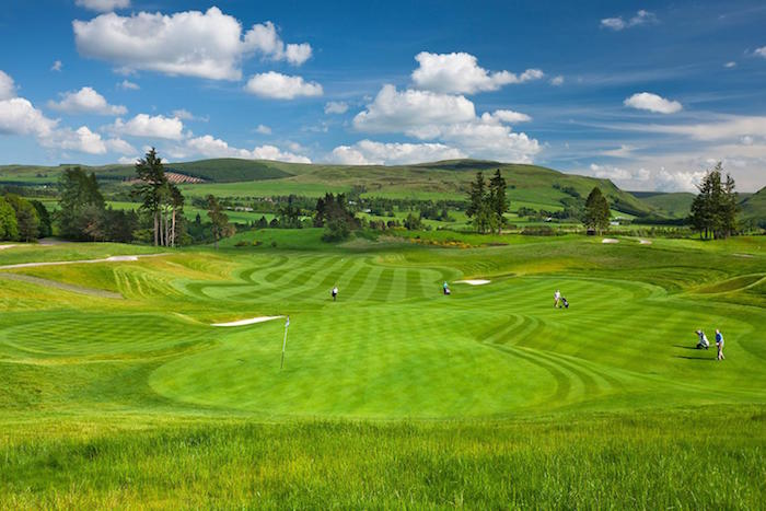 Gleneagles golf holidays and trips