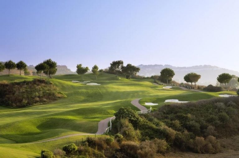 Great Golf hole in Spain