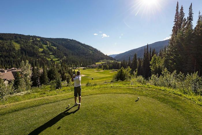 Amazing golf course views in Canada