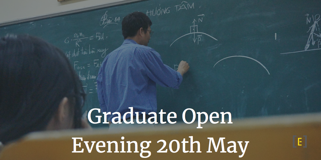 Open Evening 20 May