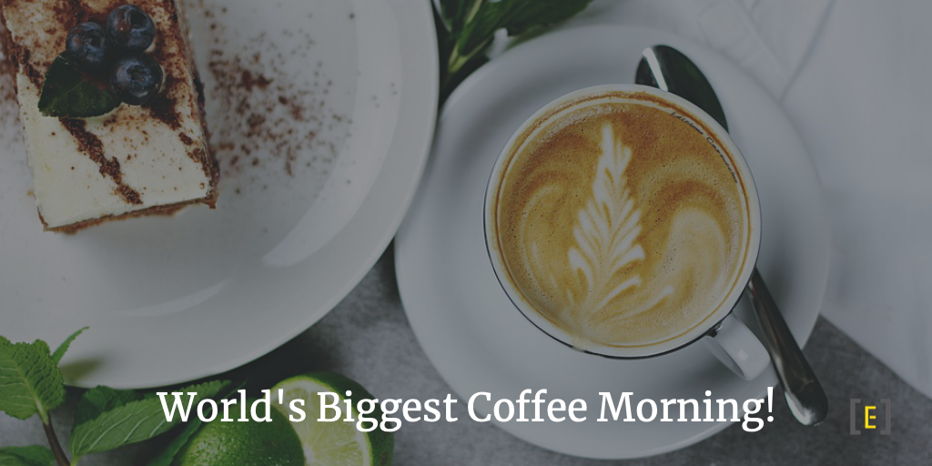 Tne World's biggest coffee morning