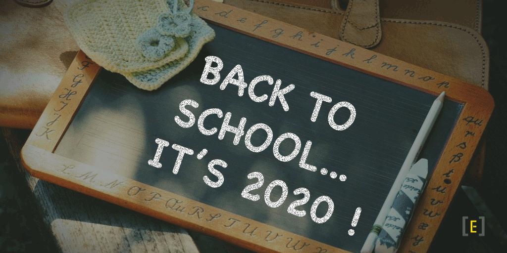 Back to School... it's 2020!