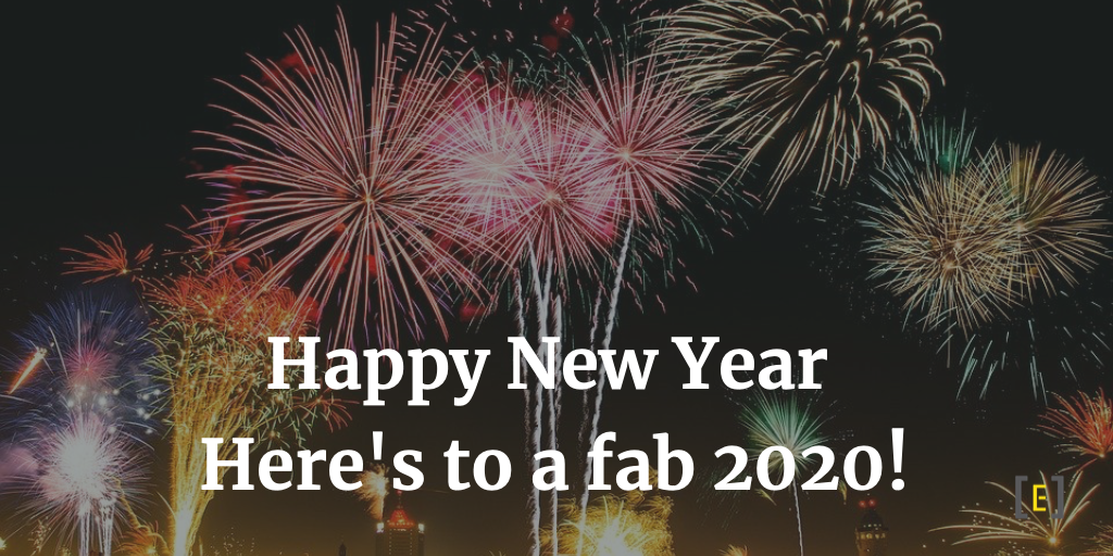 Happy New Year Here's to a fab 2020!