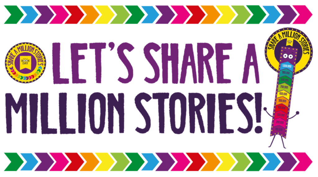 Let's Share a Million Stories!