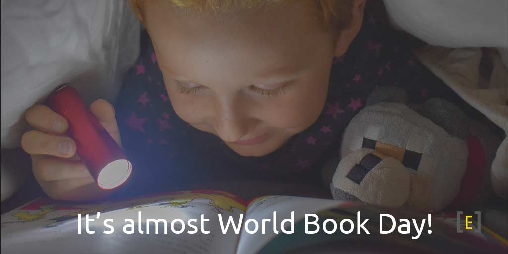 It's almost World Book Day!