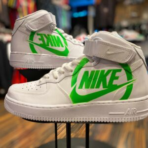 Nike Air Force 1 Hi Logo Custom