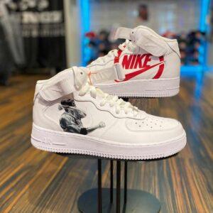 Nike Air Force 1 hi Air Jordan Portrait Custom