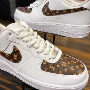 Nike Air Force 1 Low LV Monogram Custom