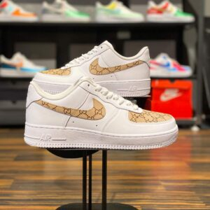 Nike Air Force 1 Low GG Monogram Custom