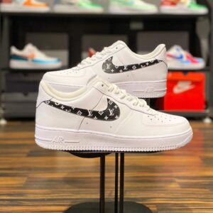 Nike Air Force 1 Low Swoosh Monogram Custom