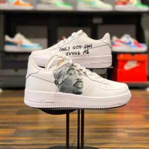 Nike Air Force 1 Low 2 Pac / Only God can Judge me Custom